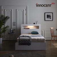 [이노센트] 리브 베리나 LED 수납 침대 SS
