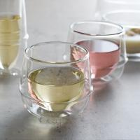 킨토 크로노스 이중유리 와인잔 250ml