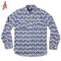 [Altamont] HANIF WOVEN L/S (Blue)