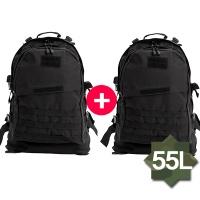 [패치증정] 1+1 남여공용 3.5일용 여행가방 커플가방