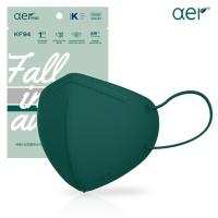 [아에르] 스페셜 에디션 KF94 그린 10매