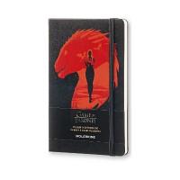 몰스킨 [16왕좌의게임]플레인/블랙 L몰스킨