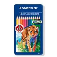 스테들러 일반금속케이스 145AM12 색연필세트[00032124]