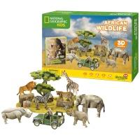 [3D퍼즐마을][DS0972h] 내셔널지오그래픽 아프리카 야생동물 (African Wildlife)