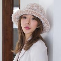 밍크 퍼 벙거지 모자