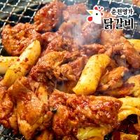 [춘천명가] 춘천 양념 닭갈비 1kg (3~4인)