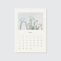 2018 calendar - 계절의 순간 (벽걸이캘린더)
