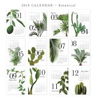 [2019 CALENDAR] Botanical