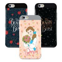 [Disney]디즈니  미녀와야수 카드 범퍼케이스-아이폰7/7플러스/6S