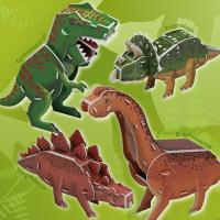 3D입체퍼즐 공룡시리즈 4종 [CK021]