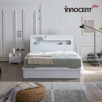[이노센트] 리브 비아스 LED 평상형 침대 Q/K