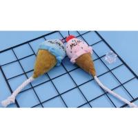 [봉봉펫닷컴] 아이스크림 강아지 봉제인형 장난감