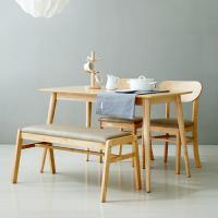 코코로N 4인 식탁세트 / 벤치, 의자