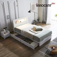 [이노센트] 리브 라이젠 LED 큰서랍 침대 SS