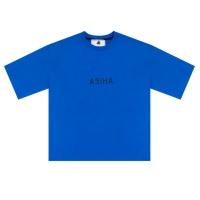 ASIHA 태극 밴딩 1/2 티셔츠 Blue