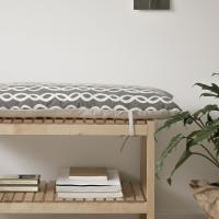 뉴비틀 벤치의자 방석(커버+솜)