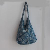 반다나페이즐리호보백-블루
