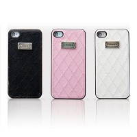 [크루셀] 코코 언더커버 iphone4S 케이스 (가죽 + 플라스틱 / 버튼부 오픈 / 아이폰 보호)-화이트