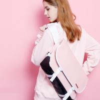 [핍스] 에센셜 메신저백(SL pink)