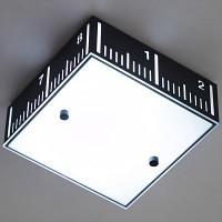 [바이빔][LED] 룰러 스퀘어 현관등-블랙or화이트