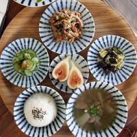 일본식기 싱글 아오센 혼밥세트