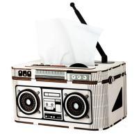 [adico]DIY 3D 티슈케이스 입체퍼즐 - 라디오