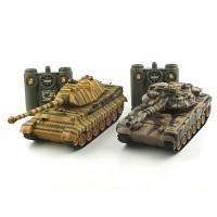 1/28 배틀탱크 세트 R/C T-90 vs KING TIGER (YAK120008SET)