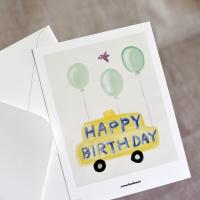 [카멜앤오아시스] Happy Birthday 생일 엽서봉투세트