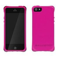 [충격완벽보호 볼리스틱 케이스] BALLISTIC LS Smooth iPHONE 5 (Hot Pink) [완벽하게 스마트폰 보호 소재]