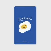 [어프어프] 보조배터리 Fried eggs-blue