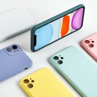 아이폰11 pro max 슬림 단색 카메라보호 젤리 케이스
