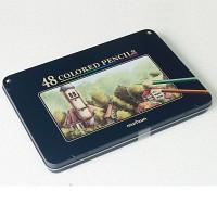 넥스프로 색연필 48색 비밀의정원채색 문화연필