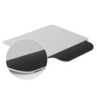 알루미늄 손목보호 마우스패드-알루미늄마우스패드(손목고무처리)