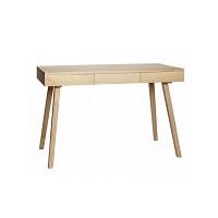 [Hubsch]Desk w/3 drawers, oak, nature 889004 책상