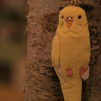 코토리콜렉션(스마트폰악세사리-액정클리너) - 사랑앵무(옐로)