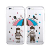 달라라삼 우산 커플 투명케이스-갤럭시노트3(N900)