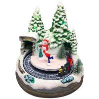 [adico]크리스마스 미니어처 빌리지 - 케이브 트레인