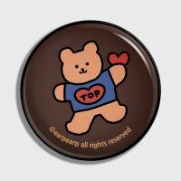 Bear heart-brown(earptoktok)