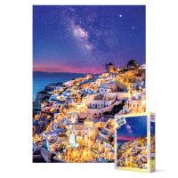 1000피스 직소퍼즐 - 산토리니, 은하수의 밤