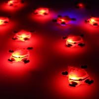 LED 플래시라이트 뱃지[산타]15개한팩