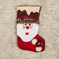 빈티지 산타 양말