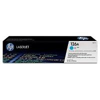 HP TONER CE311A(NO.126A) / Cyan / Color Laserjet CP1025 / 1,000P