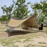 (와인앤쿡)실속형5.6M 캠핑용 헥사타프