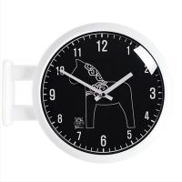 [하이모리] 타임데코 캐릭터 양면 벽시계 수치 [벽시계/양면벽시계/양면시계/월클락/인테리어시계]