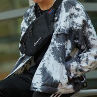 [로아드로아]ROIDESROIS - BOOM WAIST BAG (BLACK) 가방 웨이스트백 힙색