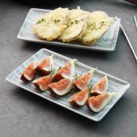 일본식기 아야토리 통통 직사각접시