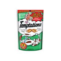 [템테이션]풍부한 해산물맛 /고양이 간식
