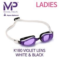 MP 마이클펠프스 K-180 바이올렛랜즈 WHITE & BLACK