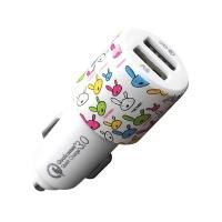 토드 초고속 충전기 USB 2구형 토끼