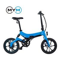 엠와이엠 MYM S6 경량 마그네슘 접이식 전기자전거